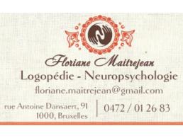 Cabinet de logopédie Floriane Maitrejean