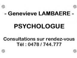 Genevieve Lambaere - Psychologue