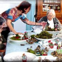 Atelier pour malades D.T.Alzheimer