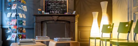 Collectif Contraception de Liège - Salle d'attente