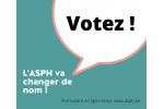 L'ASPH change de nom, avec vous!