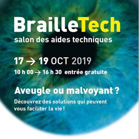 BrailleTech 2019 : lorsque la technologie donne un coup de pouce aux personnes présentant une déficience visuelle.
