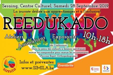 Reedukado, le salon des apprentissages et de l'inclusion