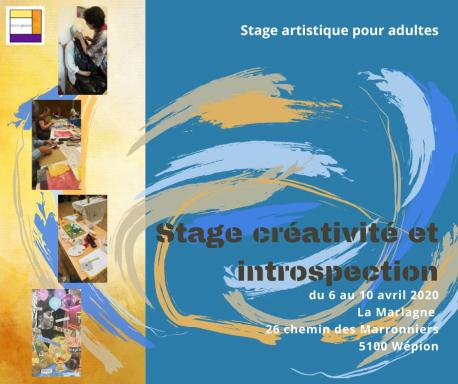 Stage Créativité et introspection