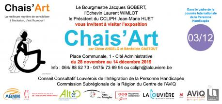 Exposition Chais'Art à La Louvière