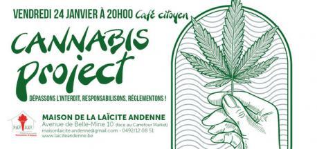 Cannabis project : dépassons l'interdit, responsabilisons, réglementons