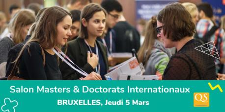 Salon qs World Grad School Tour Bruxelles