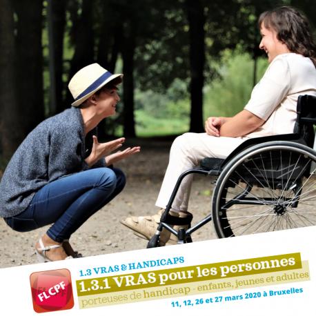 Formation à la vie relationnelle, affective et sexuelle pour les personnes porteuses de handicap