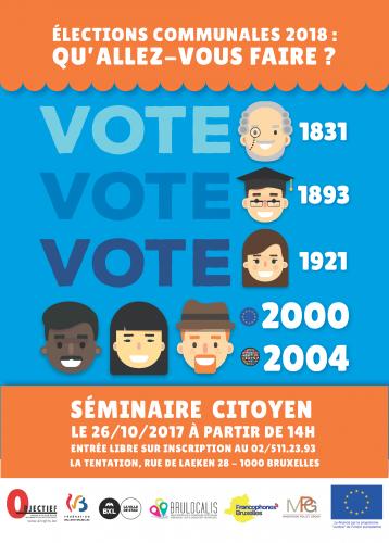 Élections 2018 : Qu'allez-vous faire ?