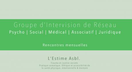 Groupe d'Intervision de Réseau #4 : (A)symétries dans les relations de soin