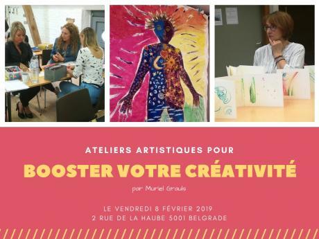 Booster votre créativité!