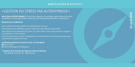 Gestion du stress par autohypnose