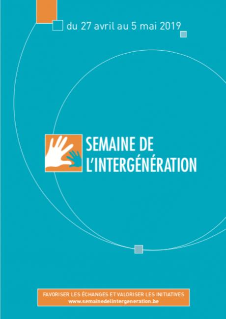 La Semaine de l'intergénération démarre ce 27 avril 2019.