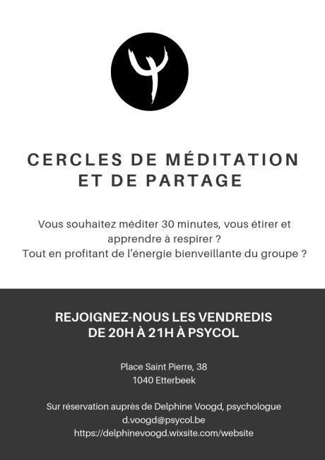 Cercles de Méditation et de Partage