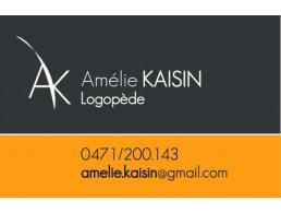 Amélie KAISIN - Logopède à Liège