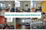 Bureaux à louer dans un espace associatif idéalement situé