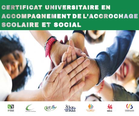 Certificat en Accompagnement de l'Accrochage scolaire et social