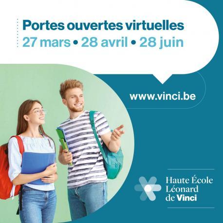 Portes ouvertes virtuelles HE Vinci