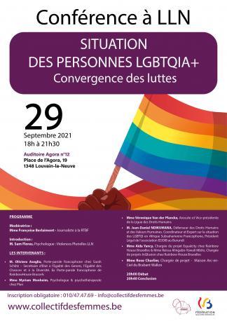 Situation des personnes LGBTQIA+ ; Convergence des luttes