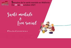 Semaine de la santé mentale en Wallonie - Edition 2021