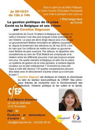 Les Midis Politiques du CFEP et du CRISP